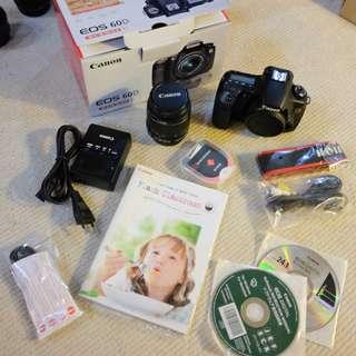 Canon 60D Kit & Lens