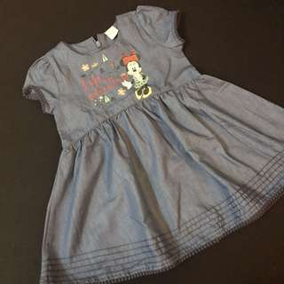 Disney Baby denim dress
