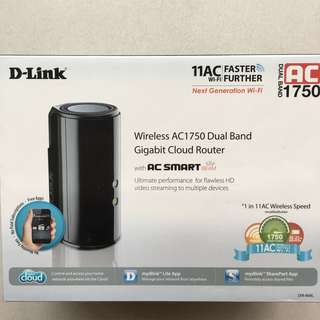D-link AC1750 wireless Cloud router