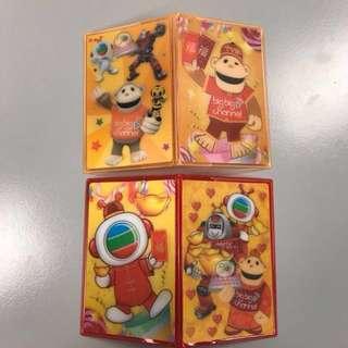 TV buddy 2018農曆新年版卡套 (6個)