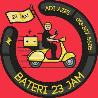 BATERI KERETA 23 JAM