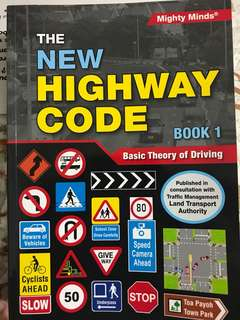 Basic Theory Of Driving New Highway Code book 1