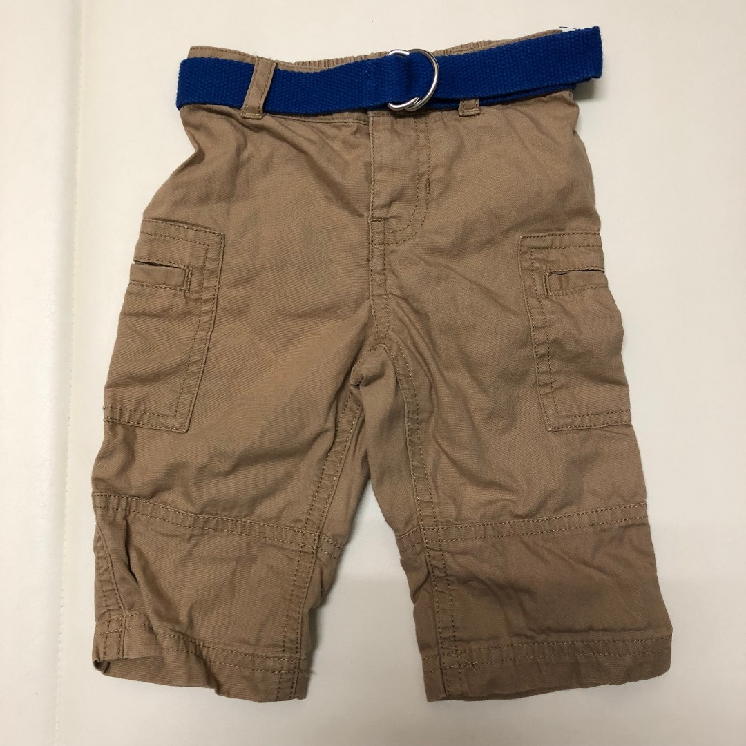 2手。(6M) Ralph Lauren 卡其口袋長褲(附小皮帶)