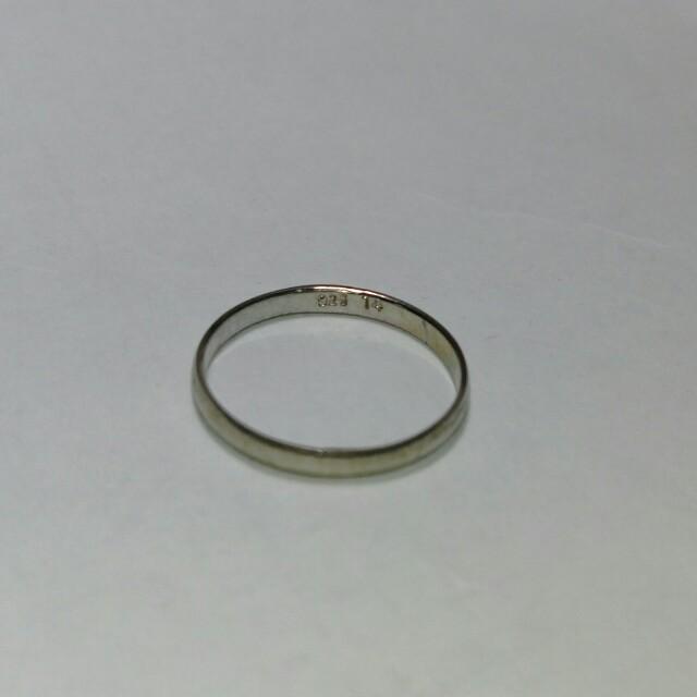 925純銀戒指 #14號#USA7 無名指戒 細戒指 簡單低調 飾品
