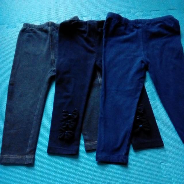 女童褲(全棉)三件一組
