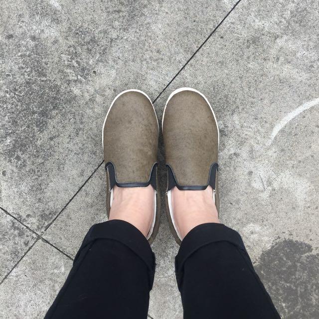日本休閒懶人鞋