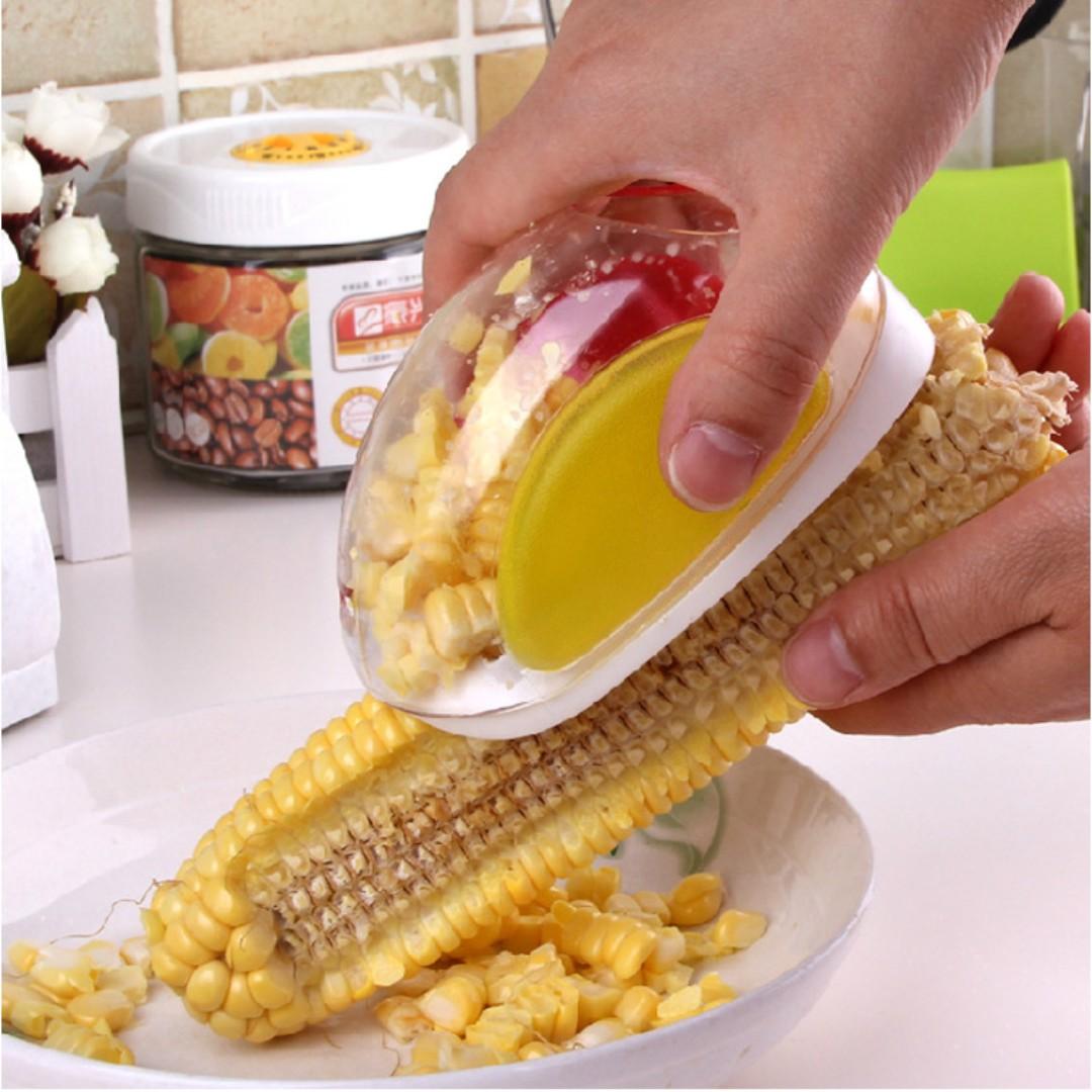 【刨玉米神器】廚房創意玉米剝離器