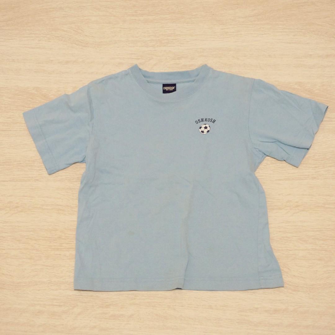 二手童裝/ OshKosh素面T恤