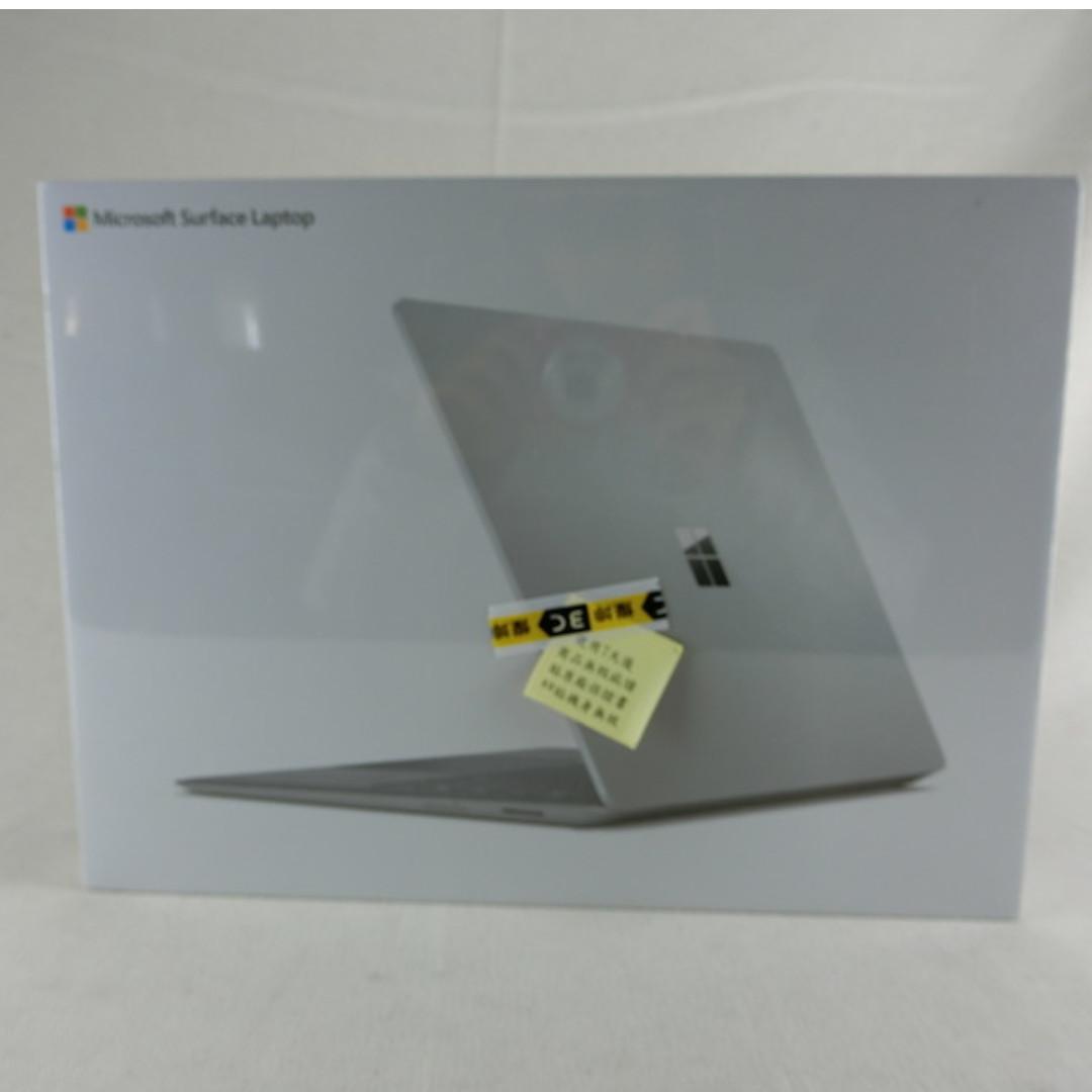 微軟 Surface Laptop-白金 13.5吋筆電 七代i5/4G/128G SSD 含鍵盤 全新未拆