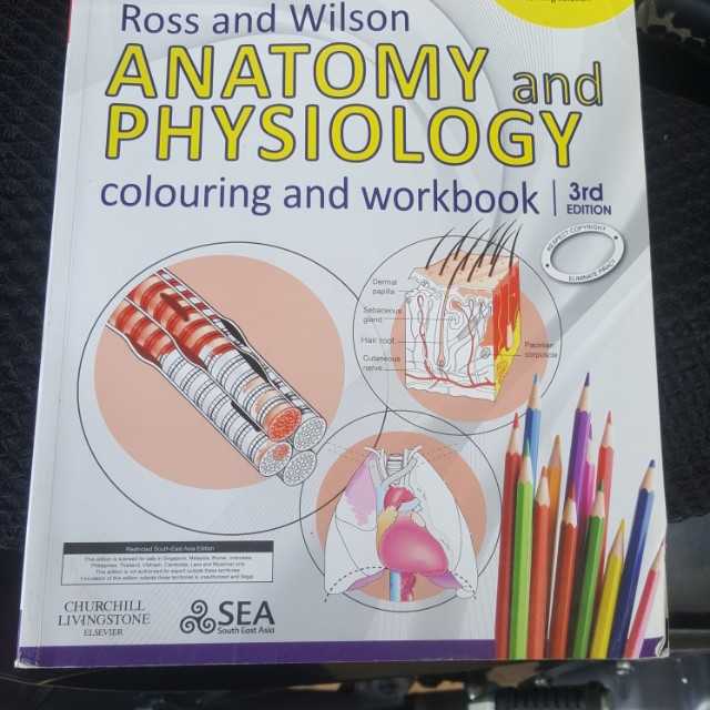 Anatomy & Physiology Ross & Wilson, Textbooks on Carousell