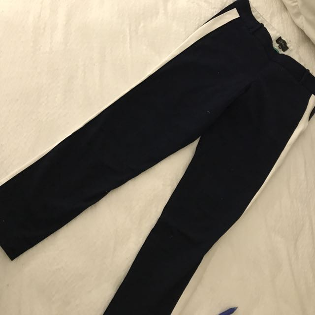 Aritzia navy pants