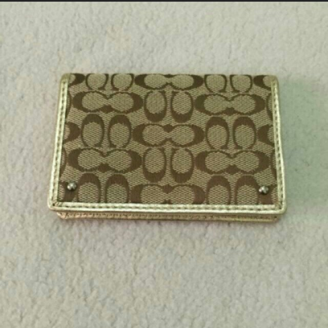 New Authentic Cards Wallet Gold