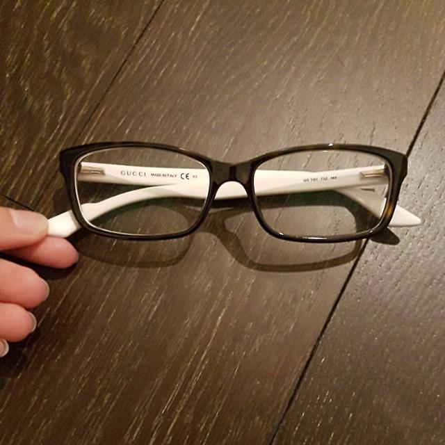 Authentic gucci prescription glasses