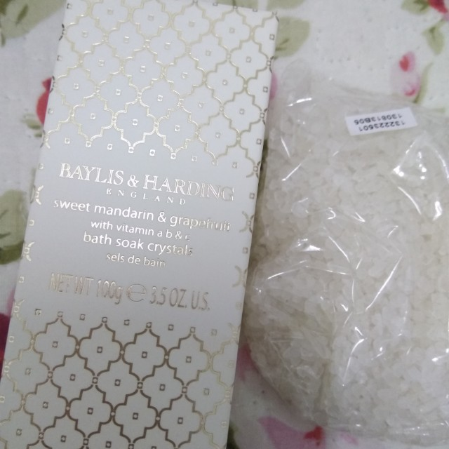 Baylis & Harling Bath Salt