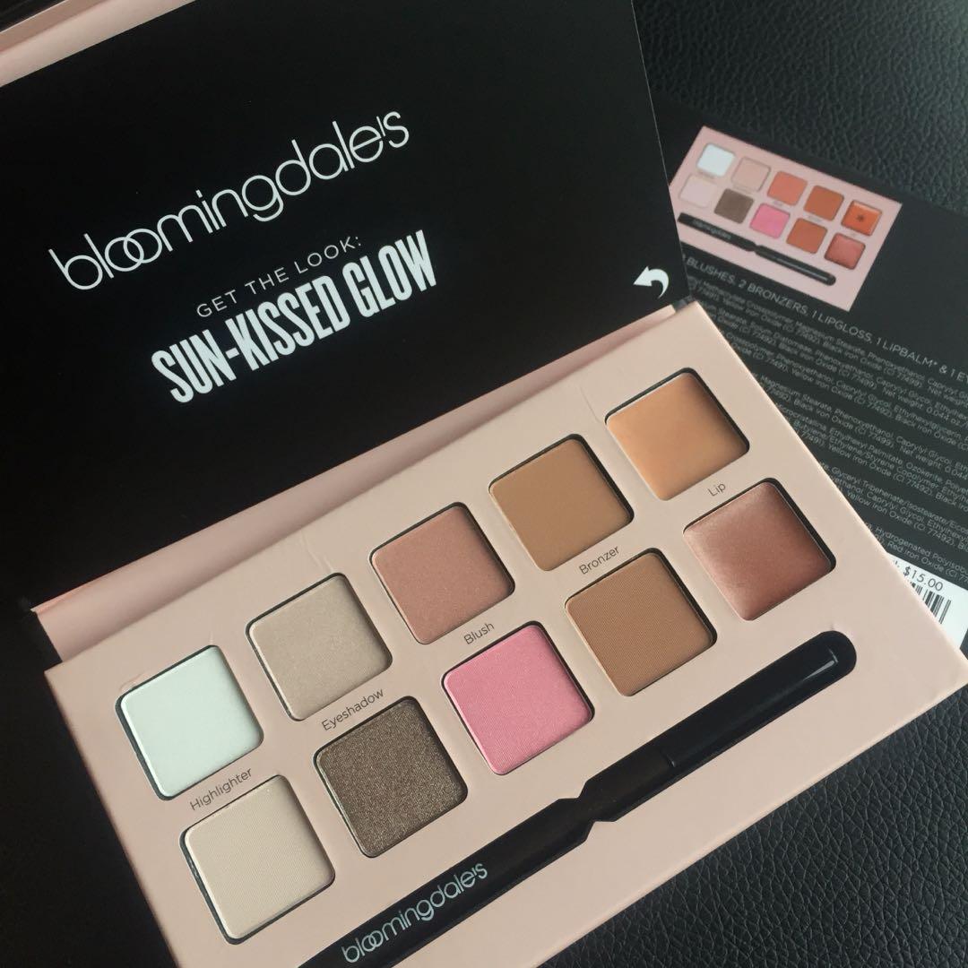 Bloomingdale's Get Glowing Palette