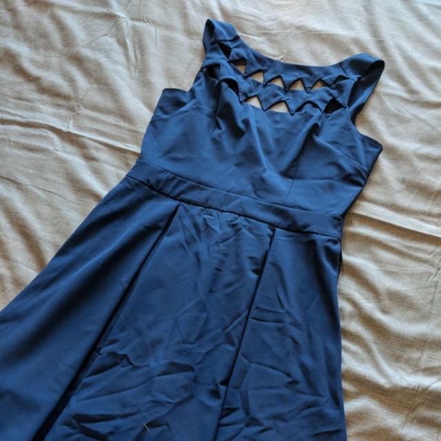 Blue formal/evening dress