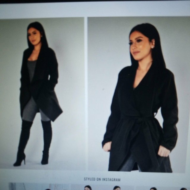 BNWOT Fashion Nova Coat: Size SMALL