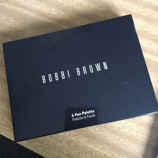 Bobbi Brown Empty 6 pan palette