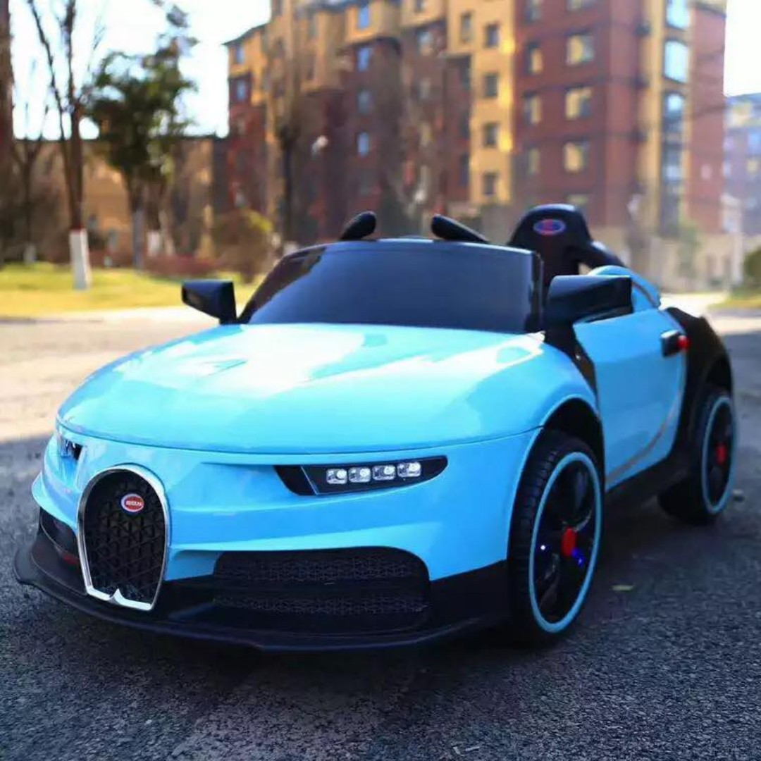 Bugatti Police Type Ride On Toy Car For Kids (Leather Seat)