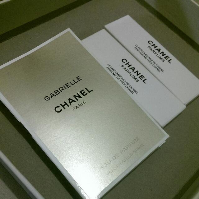 Chanel Sample Bundle