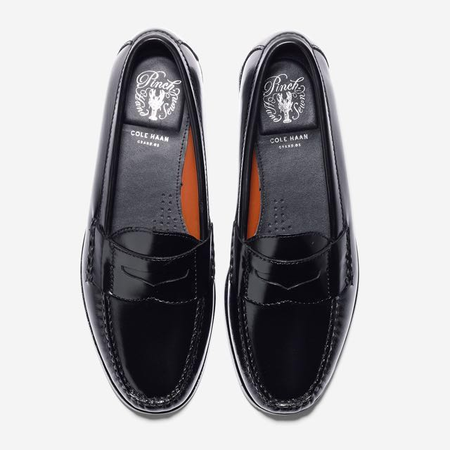 aa99318c1d2 Cole Haan Men s Pinch Grand Penny Loafers (Black)