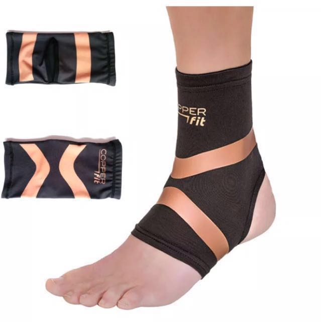 Copper Infused Ankle Support