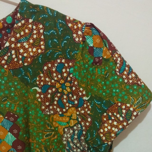 Dress Batik Eprise Hijau