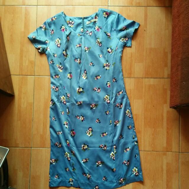 dress blue lucu