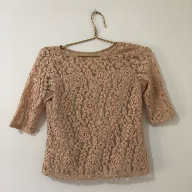 Dusty Pink Embroidery