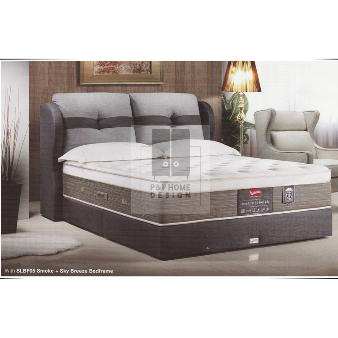 mauve bed top divan beds slumberland retro drawer gold seal for set mod grey lifestyle bensons platform
