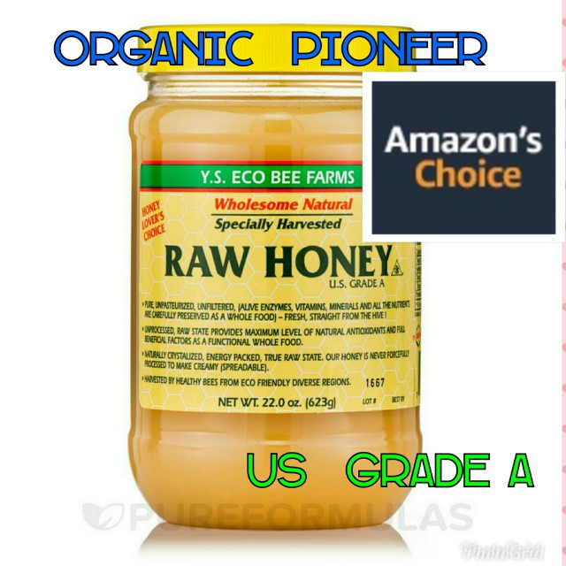 Freepos YS Eco Bee Organic Pioneer Extra Raw Honey 623g
