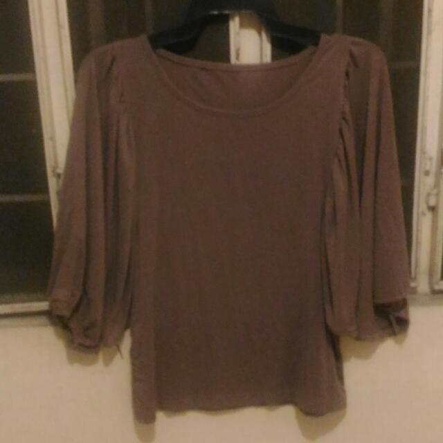 Grecian Top (Color Taupe)