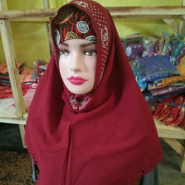 Hijab instan payet