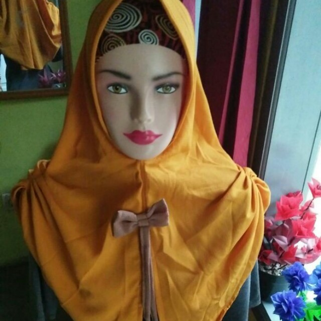Hijab instan pet pita