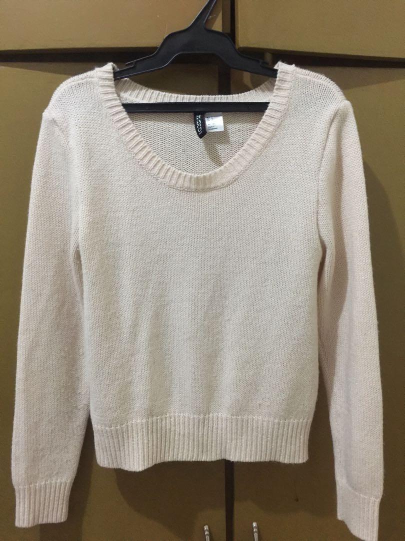 H&M Knitted Sweat Shirt