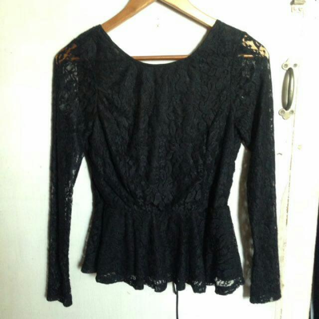 H&M Lace Long Sleeves