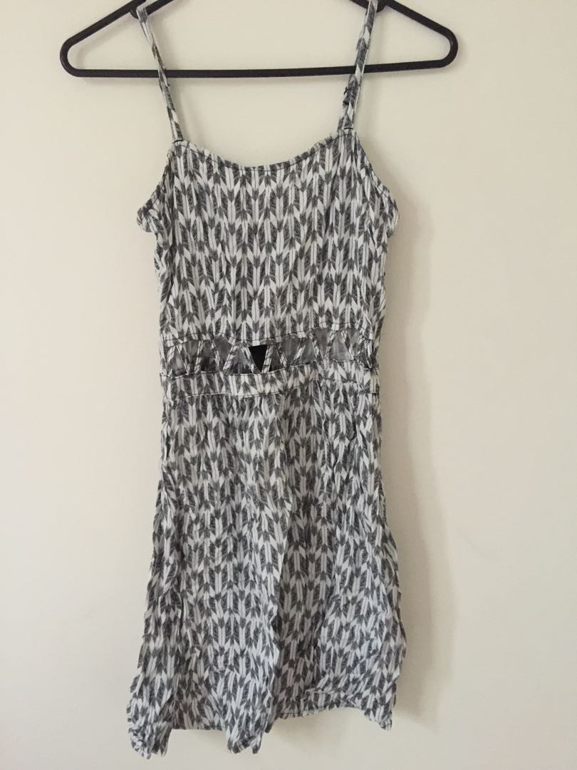H&M platter dress