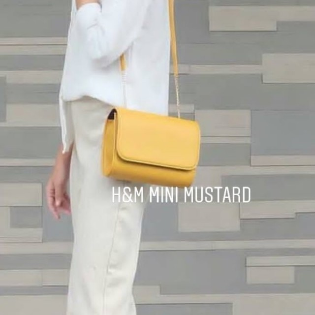 HNM Look Like Mustard baru 1x pakai Free ONGKIR JABODETABEK