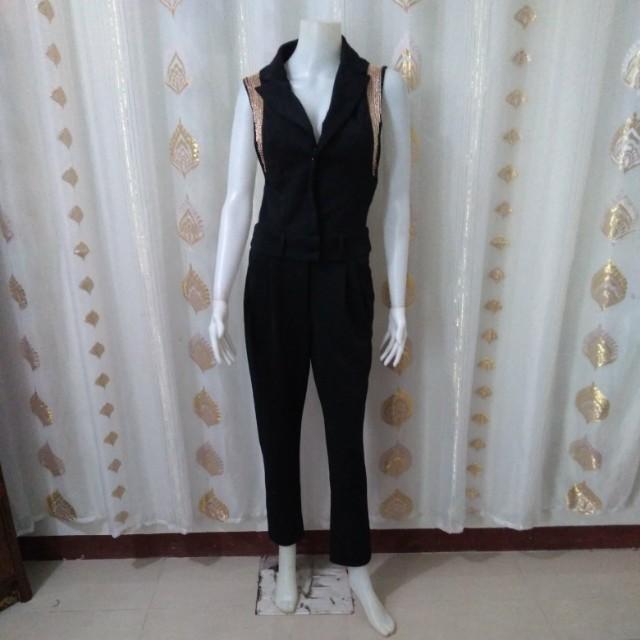 Horae formal jumpsuit