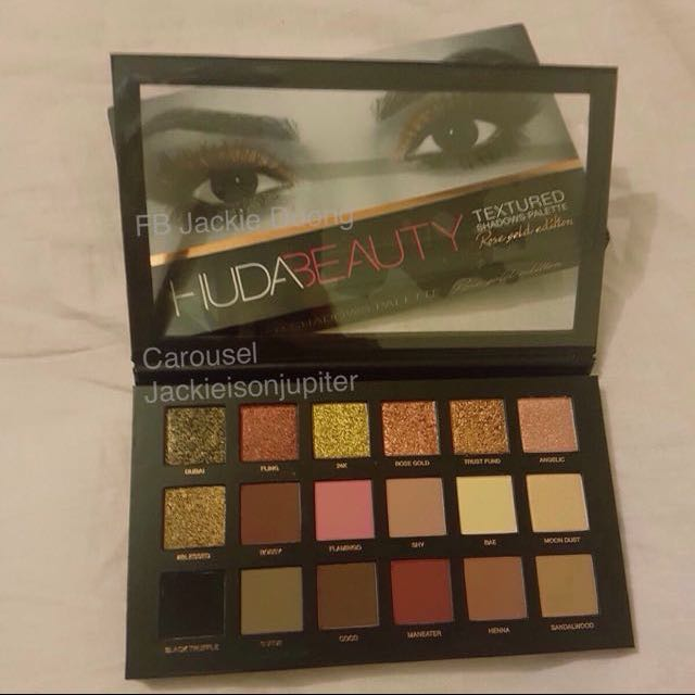 Huda Beauty Rose Gold Limited Edition Eyeshadow Palette