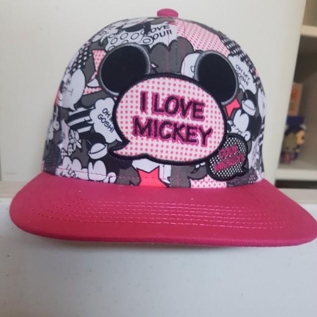 4e53117b17b84 I love Mickey Disneyland Hong Kong hat
