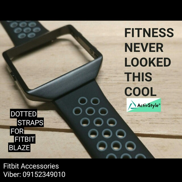 Ionic-Style Frame Sports Straps for #Fitbit Blaze Price: 1000 PHP