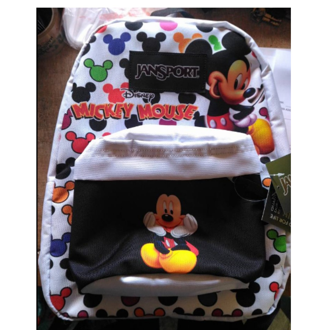 8195203052a Jansport Mickey Mouse Backpack SB Large