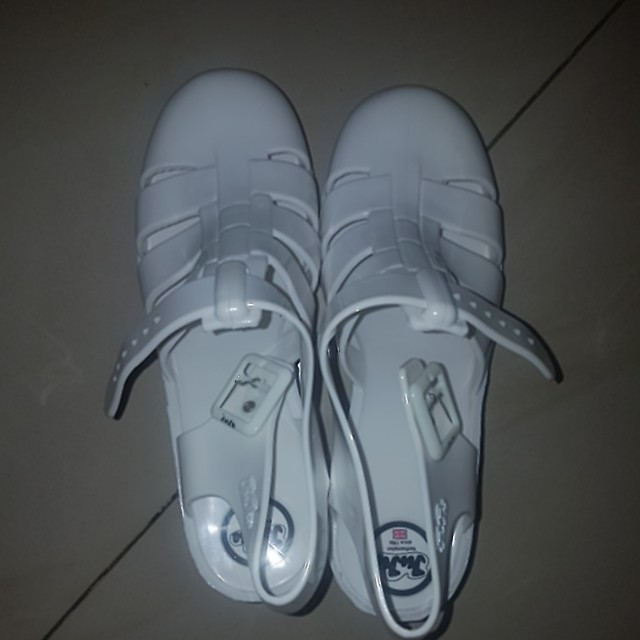JuJu jelly shoes ( white)