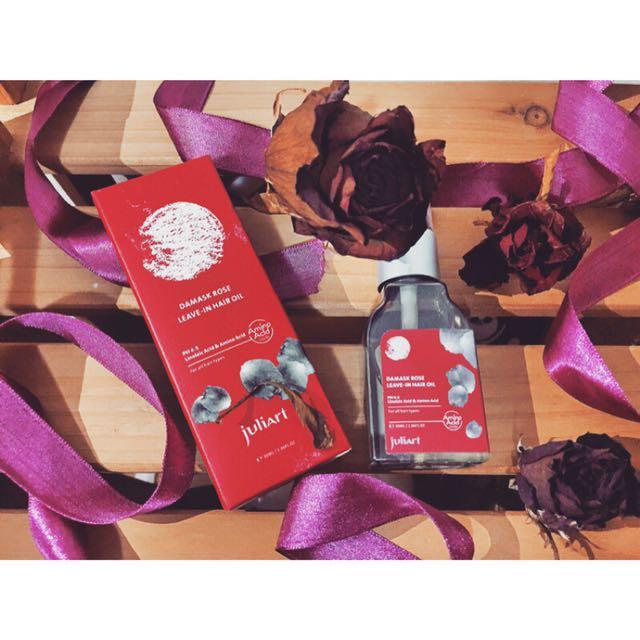 Juliart覺亞大馬士革玫瑰精萃護髮油30ml