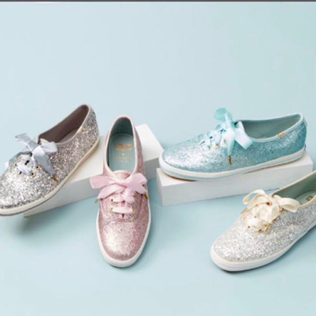 KEDS Glitter Shoes(Pink), Women's
