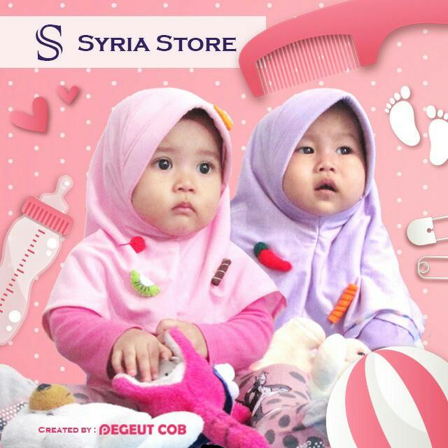 Kerudung anak/hijab anak