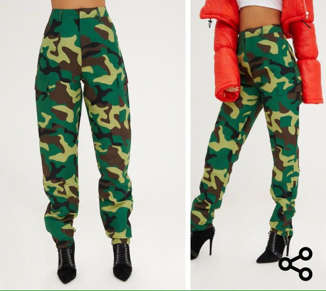 Khaki Camo Trousers from PLT