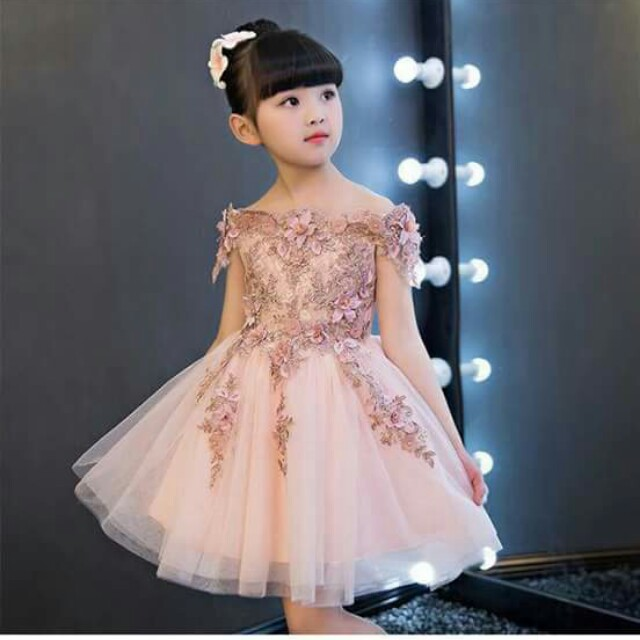 Kid's Cocktail Gown