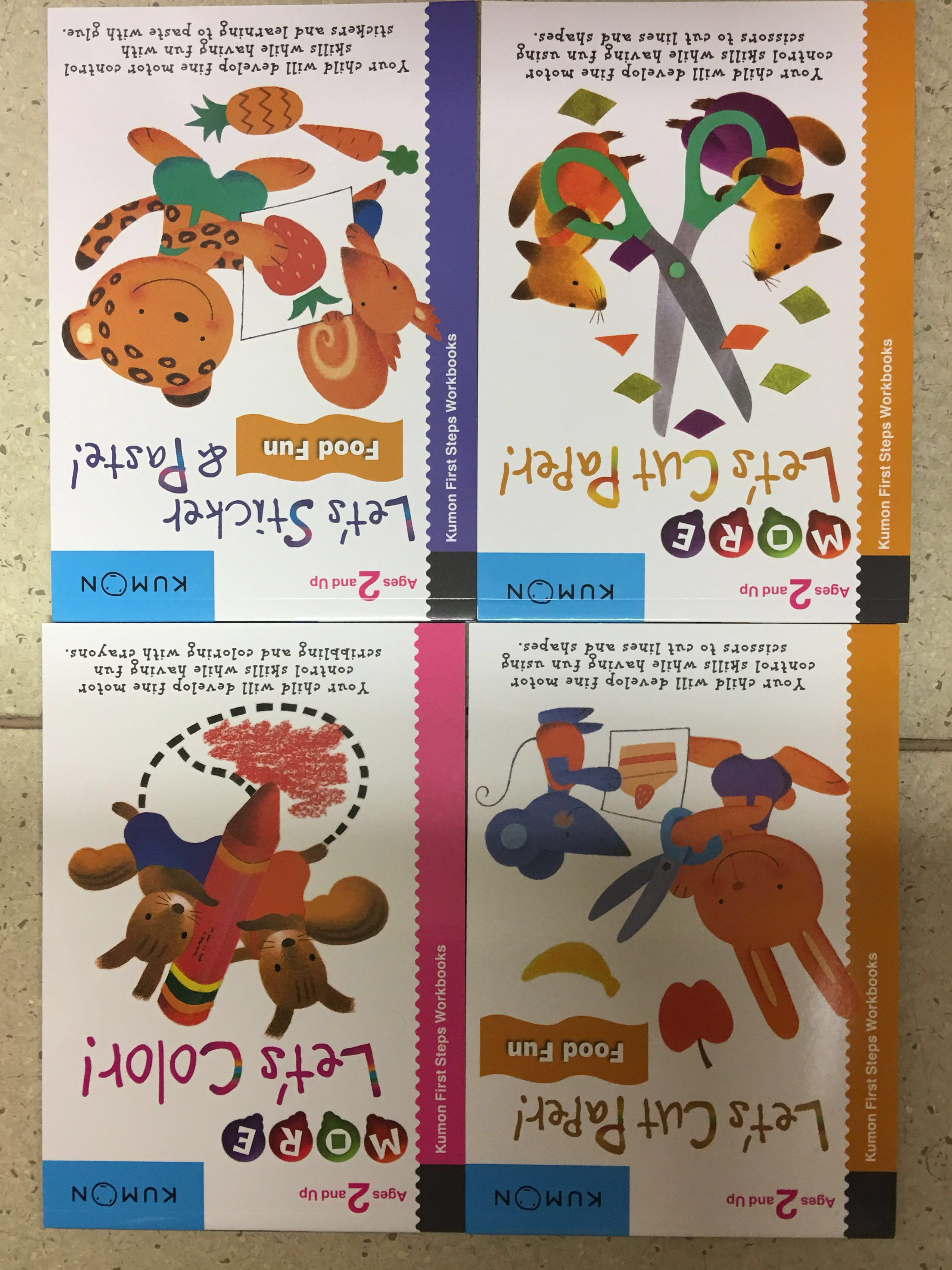 Kumon Dollars Creative Doodling Workbooks 2 Books Fun Early Learning Years Old Stationery Childrens On Carousell 2550x3400